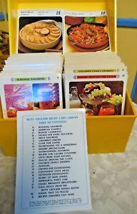 betty crocker recipe cards