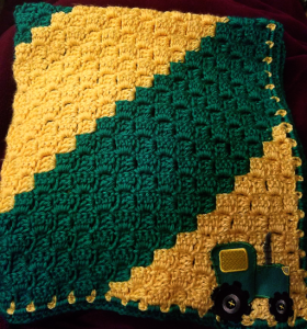 John Deere blanket